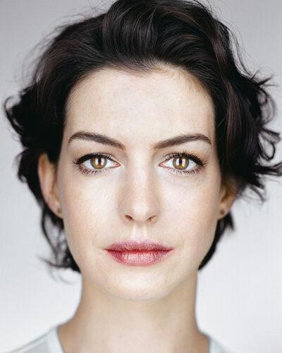 Martin Schoeller, 'Anne Hathaway', 2014