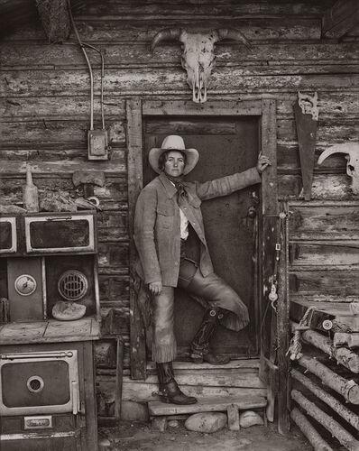 Jay Dusard, 'Julie Hagen, Wagstaff Land & Cattle Co., Wyoming', 1981