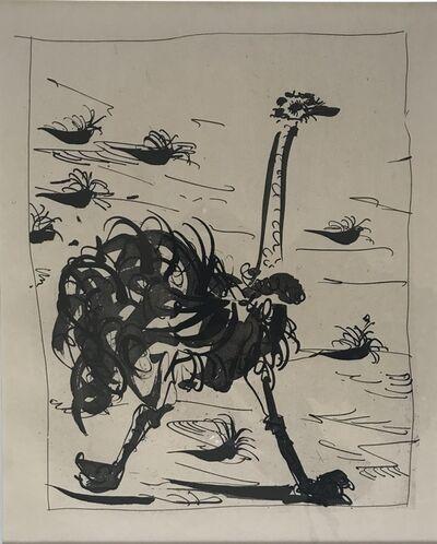 Pablo Picasso, 'La Otruche (The Ostrich)', 1936