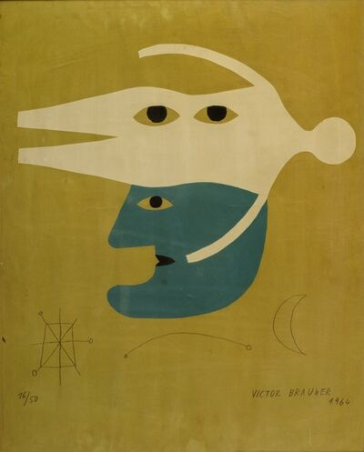 Victor Brauner, 'Composition', 1964