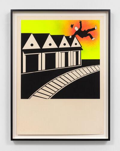 David Wojnarowicz, 'Architecture + Blast (sm.) - 1,', 1982
