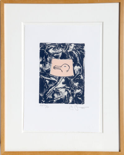 Jasper Johns, 'Rabbit/Duck', 1990