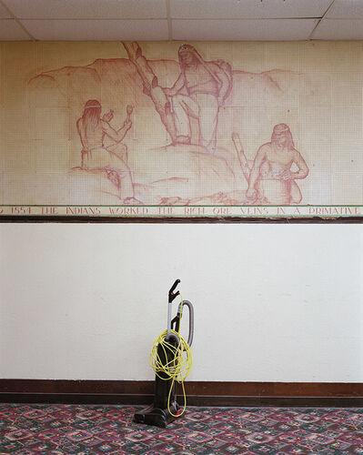 Mitch Epstein, 'Harold Eckman Mural (1945), Ajo, Arizona', 2020
