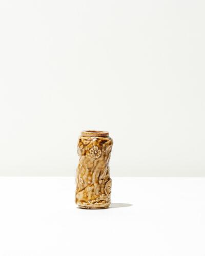 Jean-Michel Cazin, 'Marble Floral Vase', 1897