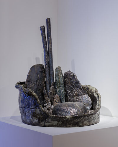 Sterling Ruby, 'Basin Theology/HATRA', 2017