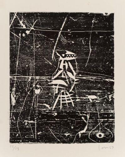 Asger Jorn, 'Coupures de table', 1967