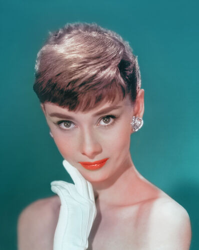 Bud Fraker, 'Audrey Hepburn in White Gloves, an Archival Print', 1953