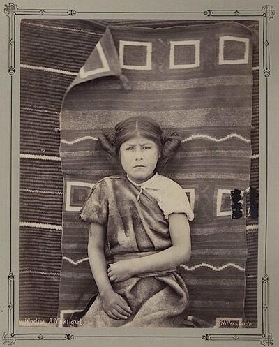 John K. Hillers, 'Modesi, A Moki Girl [Native American]', 1879