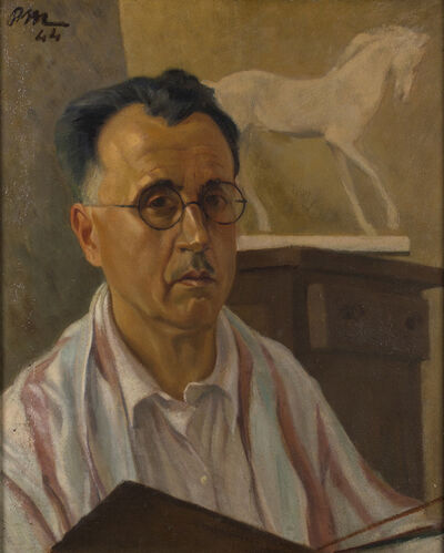 Publio Morbiducci, 'Self-portrait', 1944
