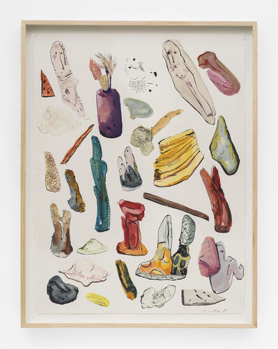 Jasmine Little, 'Object Inventory', 2014