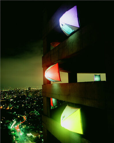 Eduardo Srur, 'Acampamento dos anjos', 2004
