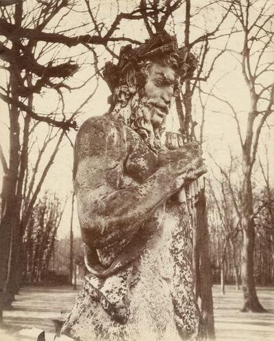 Eugène Atget, 'Versailles (Faune)', 1901