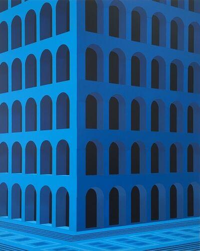 Daniel Rich, 'City Square (Palazzo della Civiltà Italiana)', 2020