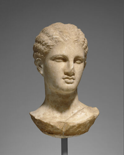 'Head of a Young Woman from a Grave Naiskos', ca. 320 BCE