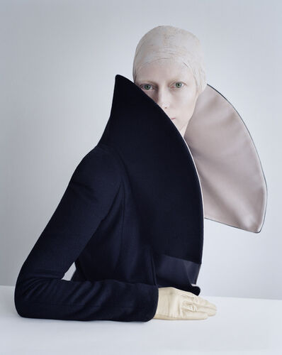 Tim Walker, 'Tilda Swinton in exaggerated collar, Fashion: Giorgio Armani. Reykjavik, Iceland 2011,', print date: 2019