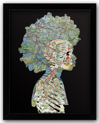Joanathan BESSACI, 'Afro Skull', 2020