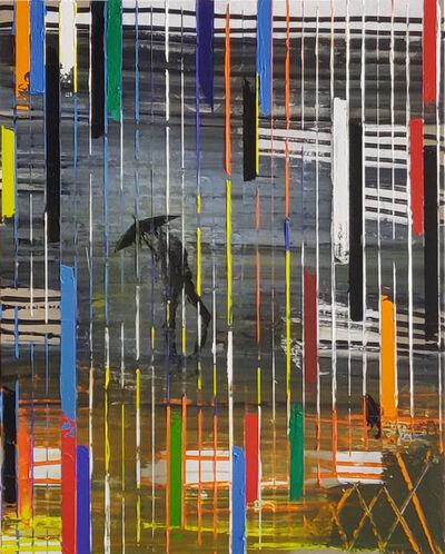 Pelayo Ortega, 'Lluvia cromática', 2019