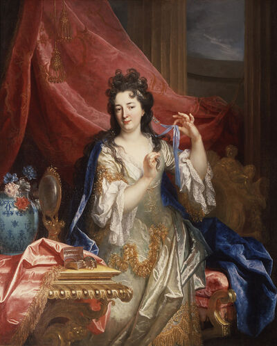 Nicolas de Largillièrre, 'Portrait of a Woman', 1696