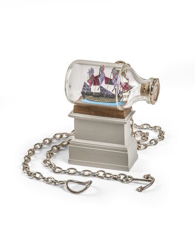 Yinka Shonibare CBE, 'Ship in a Bottle Pendant with Detachable Plinth', 2011