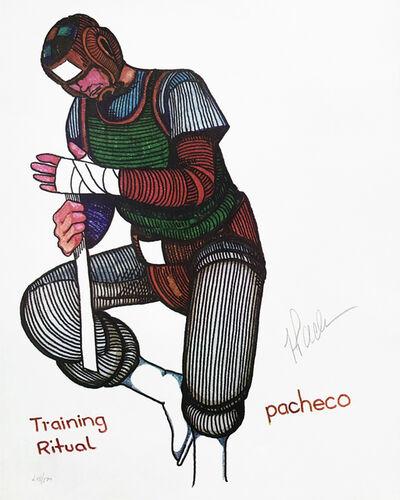 Ferdie Pacheco, 'TRAINING RITUAL (BOXING)', ca. 1980