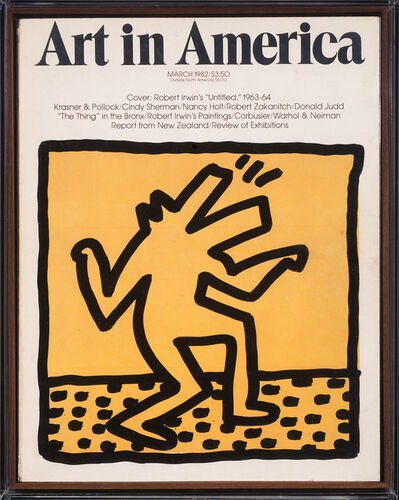Keith Haring, 'Untitled ('Barking Dog')', 1982