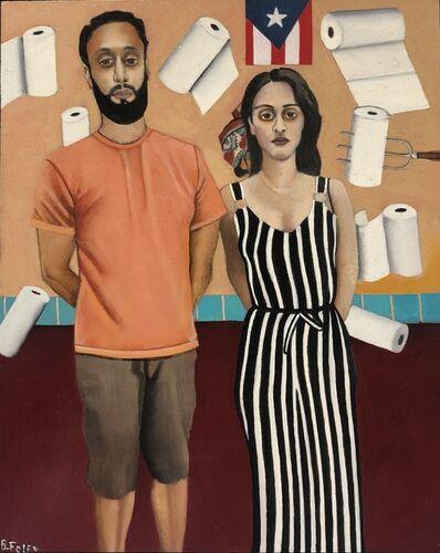 Beth Foley, 'Puerto Rican American Gothic', 2019