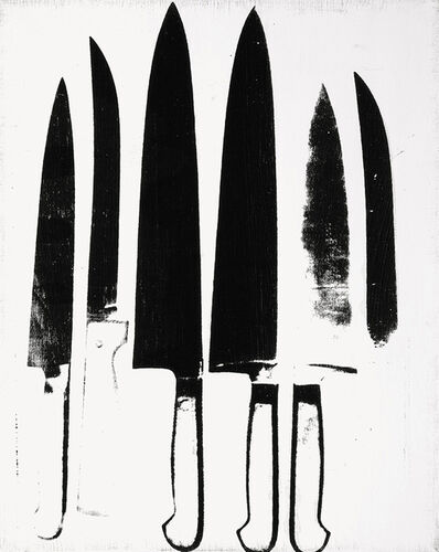 Andy Warhol, 'Knives', 1981