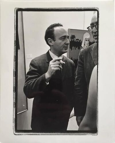 Fred W. McDarrah, 'Ivan Karp | Sherman Drexler', 20th Century