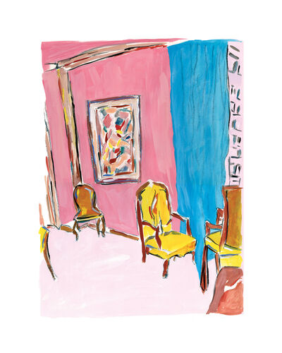 Bob Dylan, 'Three Chairs - 2011', 2011