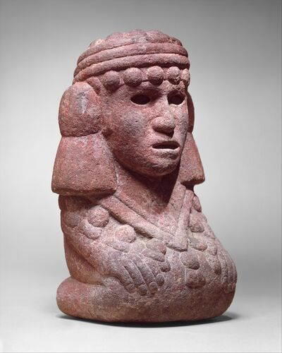 Unknown Aztec, 'Water Deity (Chalchiuhtlicue)', 15th–early 16th century