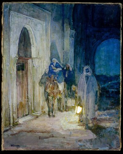 Henry Ossawa Tanner, 'Flight Into Egypt', 1923
