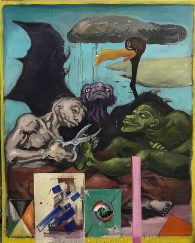 Manuel Ocampo, 'Goya, pintor de Justicia Social Constructivista Ruso', 2017
