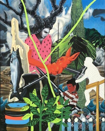 Rodel Tapaya, 'Fish in Troubled Waters', 2019