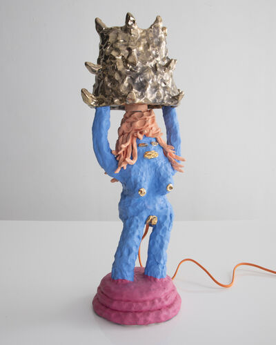Katie Stout, 'Unique Girl Lamp', 2017