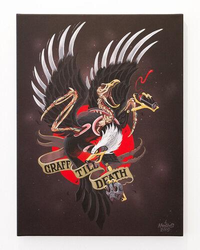 NYCHOS, 'Graff Till Death', 2015