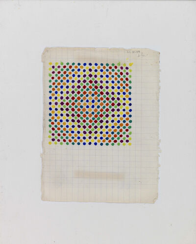 Julio Le Parc, 'Projet couleur n° 1 (Color Project n° 1)', 1959
