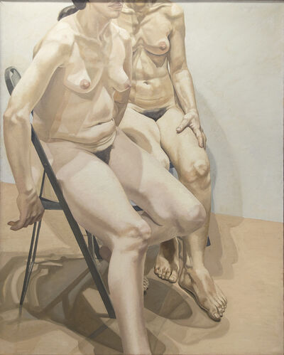 Philip Pearlstein, 'Two Seated Models', 1968