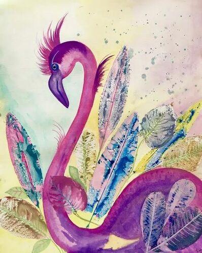 Kim Oberoi, 'Flamingo Lingo', 2020