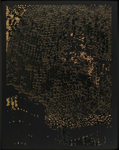 El Anatsui, 'Untitled (Black Edge with Pearl)', 2013