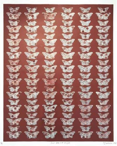Margarita Cabrera, 'Time does not Forgive - Butterfly Suite ', 2018