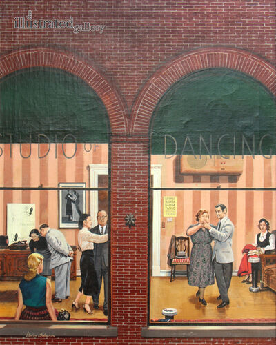 Stevan Dohanos, 'Dancing Class, Saturday Evening Post Cover', 1952