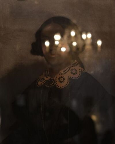 Nicola Lo Calzo, '«Portrait of Lady» presumed to be a free woman of color, dated 1857, Le Musée de free people of color, New Orleans.', 2014