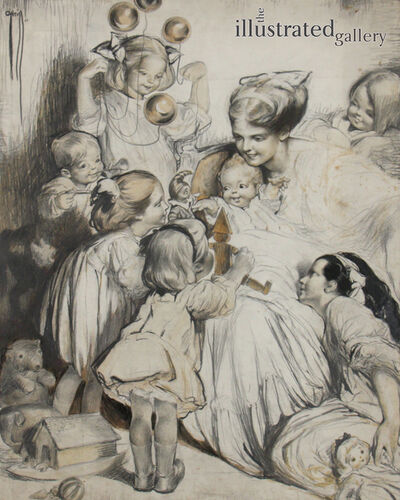 Rose Cecil-Latham O'Neill, 'Baby's First Christmas', 1910