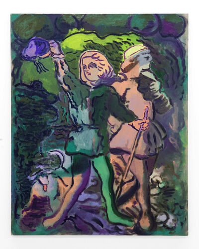 """Delphine Hennelly, '""""Good Companions In Green""""', 2019"""