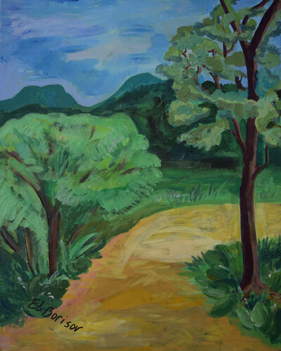 Elizabeth Borisov, 'The Path Leading to Forest', 2019