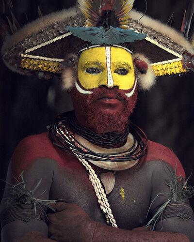 Jimmy Nelson, 'XXXIII 8, Huli Wigman, Tari, Papua New Guinea', 2017