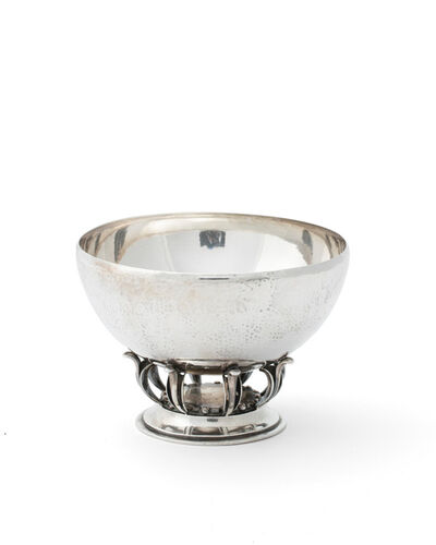 Georg Jensen, 'A Georg Jensen silver bowl, No. 584'