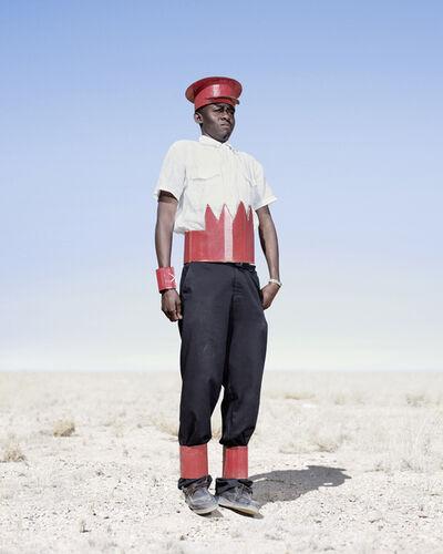 Jim Naughten, 'Herero Cadet in Cardboard Hat', 2012