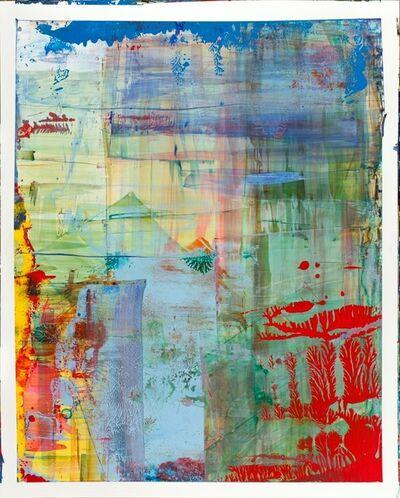 Bernd Haussmann, '2483 Red, Green, Yellow, Blue', 2015