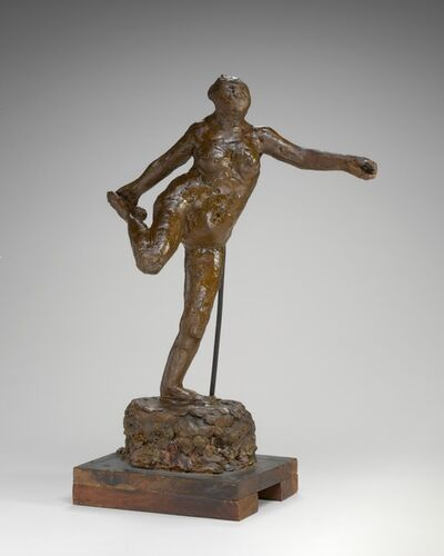 Edgar Degas, 'Dancer Holding Her Right Foot in Her Right Hand', possibly 1900/1911